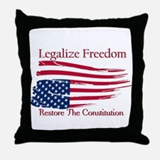 Legalize Freedom, Restore the Constiution Throw Pi