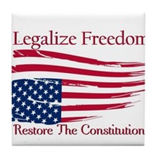 Legalize Freedom, Restore the Constiution Tile Coa