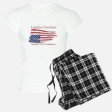 Legalize Freedom, Restore the Constiution Pajamas
