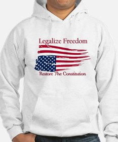 Legalize Freedom, Restore the Constiution Jumper Hoody