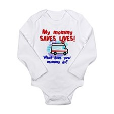 Mommy Saves Lives Ambulance Body Suit