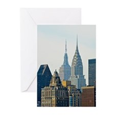 New York City Skyscrapers Greeting Cards (Pk of 20