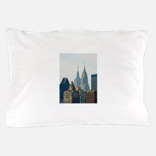 New York City Skyscrapers Pillow Case