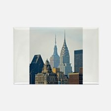 New York City Skyscrapers Rectangle Magnet