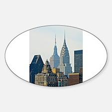 New York City Skyscrapers Decal