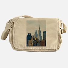 New York City Skyscrapers Messenger Bag