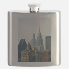 New York City Skyscrapers Flask