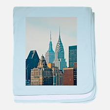 New York City Skyscrapers baby blanket