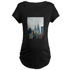 New York City Skyscrapers Maternity T-Shirt