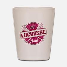 #1 Lacrosse Aunt Shot Glass