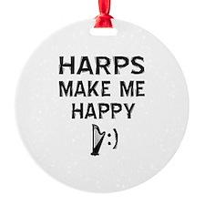 Harps musical instrument designs Ornament