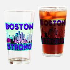 Boston Strong Skyline Drinking Glass