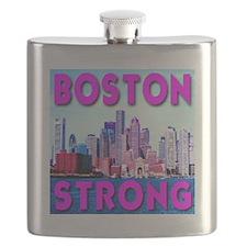 Boston Strong Skyline Flask