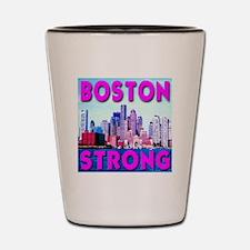 Boston Strong Skyline Shot Glass