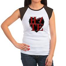 Hate Women's Cap Sleeve T-Shirt