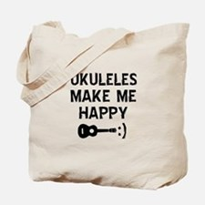 Ukukeles musical instrument designs Tote Bag