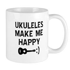 Ukukeles musical instrument designs Mug