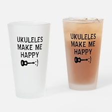 Ukukeles musical instrument designs Drinking Glass