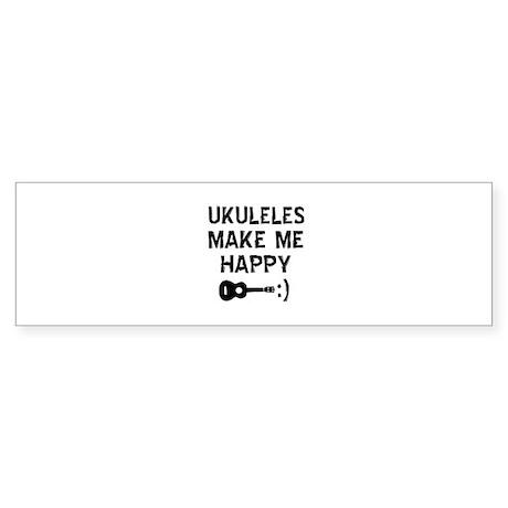Ukukeles musical instrument designs Sticker (Bumpe