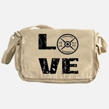 Love Lifting Weights Messenger Bag