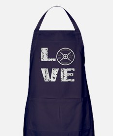 Love Lifting Weights Apron (dark)