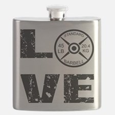 Love Lifting Weights Flask