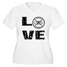Love Lifting Weights T-Shirt