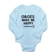 Oboes musical instrument designs Long Sleeve Infan