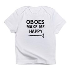 Oboes musical instrument designs Infant T-Shirt