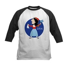 Greek Lady Dancing Baseball Jersey