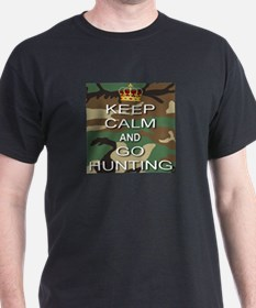 Keep Calm and Go Hunting T-Shirt