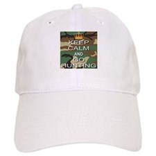 Keep Calm and Go Hunting Baseball Cap