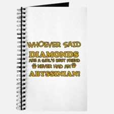Abyssinian cat vector designs Journal