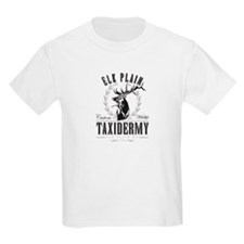 elk plain taxidermy logo T-Shirt