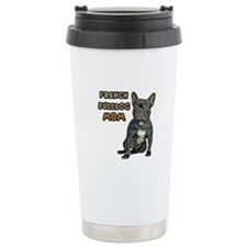 French Bulldog Mom Travel Mug