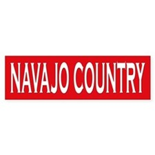 Navajo Country Bumper Bumper Sticker