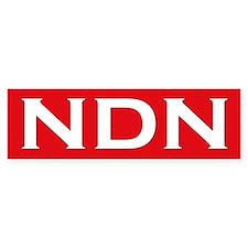 NDN Bumper Bumper Sticker