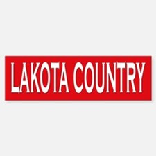 Lakota Country Bumper Bumper Bumper Sticker