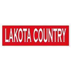 Lakota Country Bumper Bumper Sticker