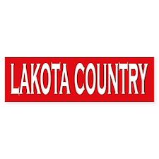Lakota Country Bumper Bumper Sticker