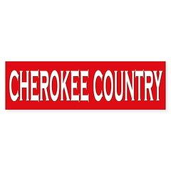Cherokee Country Bumper Bumper Sticker