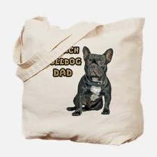 French Bulldog Dad Tote Bag