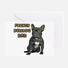 French Bulldog Dad Greeting Card