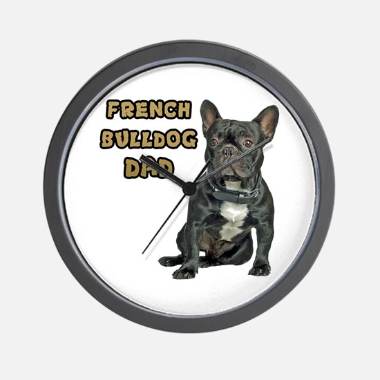 French Bulldog Dad Wall Clock