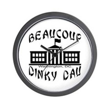 Beaucoup Dinky Dau Wall Clock