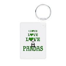 Love Love Pandas Keychains
