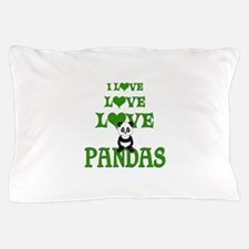 Love Love Pandas Pillow Case