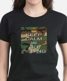 Keep Calm and Go Fishing Tee