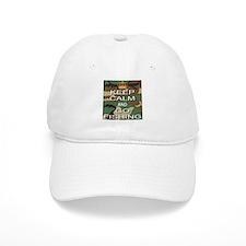 Keep Calm and Go Fishing Baseball Cap