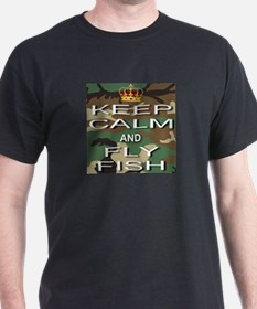 Keep Calm and Fly Fish T-Shirt